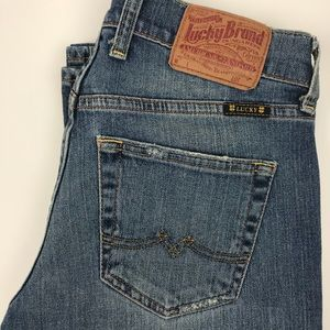 """🍀Lucky Brand🍀 """"Sweet 'N' Low Dungarees Jeans 👖"""